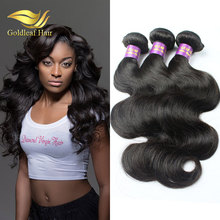 cheap price good feedbacks unprocessed 5a human hair, hot sale 100 virgin brazilian 5a body wave hair