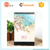 2017 new design china cheap personalised desk pad monthly calendar