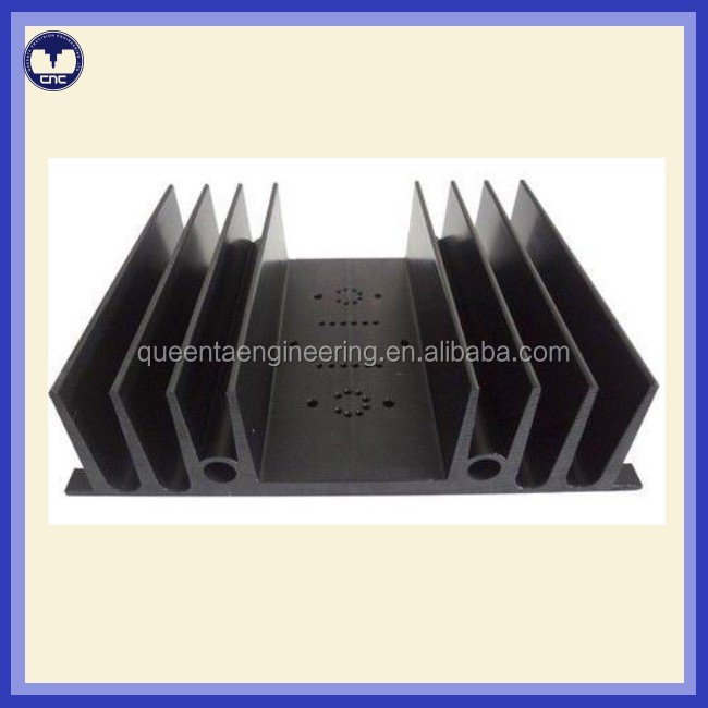 Aluminium extrusion heat sinks