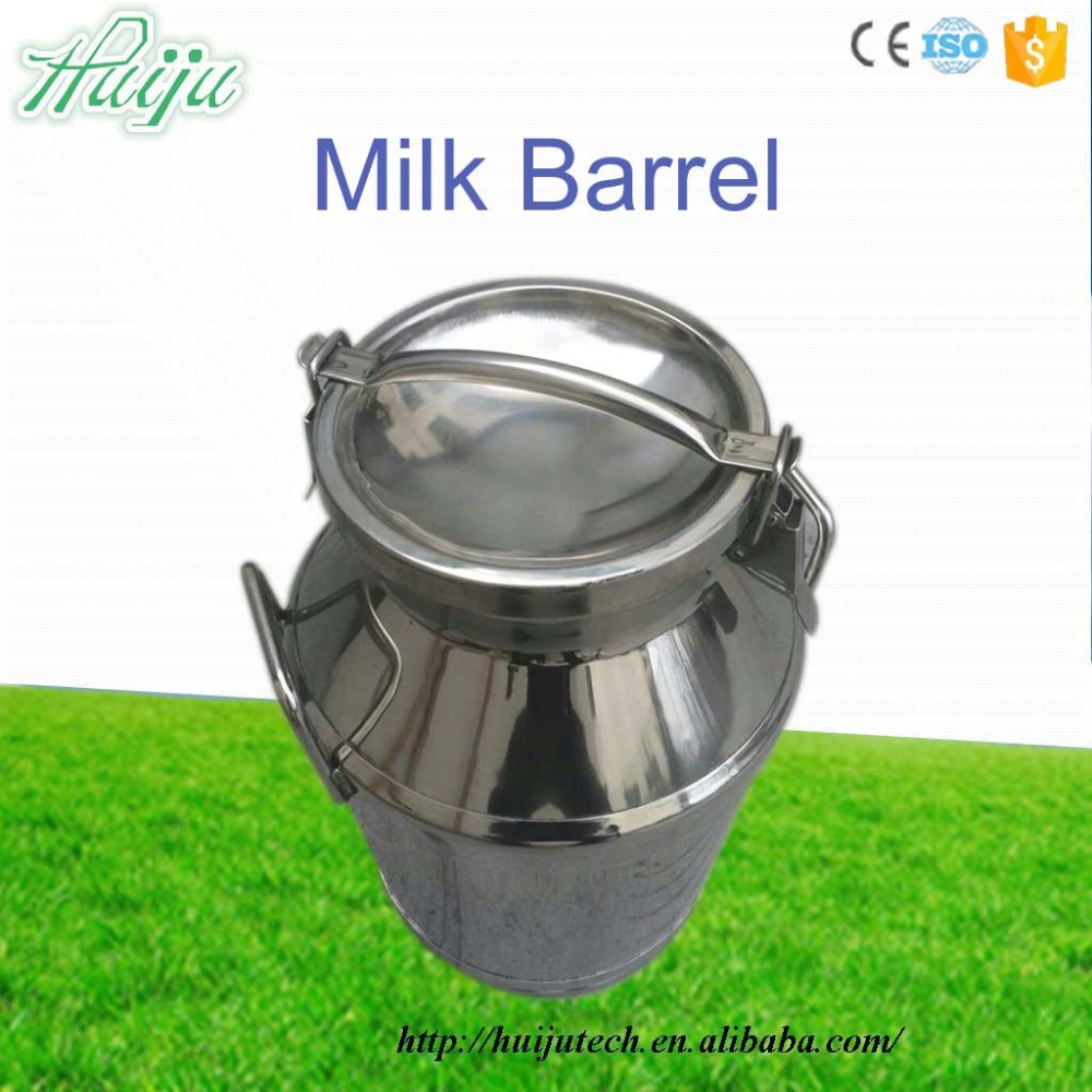series stainless steel mini milk can 40L for cow/goat milking machine