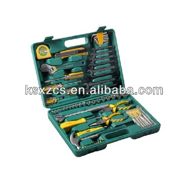 China manufacturer household hand tool set plastic tool kit boxes