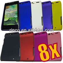 Rubber Hard Case Back Cover for Motorola Droid RAZR XT910