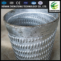304L 316L stainless steel water well screen pipe