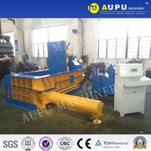 2016 new design scrap car and metal portable baler and logger machine price