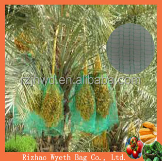 date palm tree net mesh bag with UV