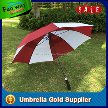 Strong frame Large Windproof Umbrella for heavy rain