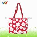 Ladies Full Flower Printing Beach Bags for shopping
