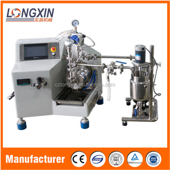 Longxin Professional Lab Fast Flow Nano Bead Mill for Digital Jet Printing Ink Grinding (WSP-0.5)