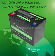 Extra long 5000 Cycle Life! 12V 24V 36V Rechargeable Lithium Ion Battery Pack with Waterproof SLA case!