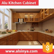 2017 New design aluminum costomized kitchen cabinet