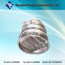 Galvanized steel manual air round damper