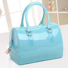 CD050 Hot Summer styles classical candy beach tote silicone bag