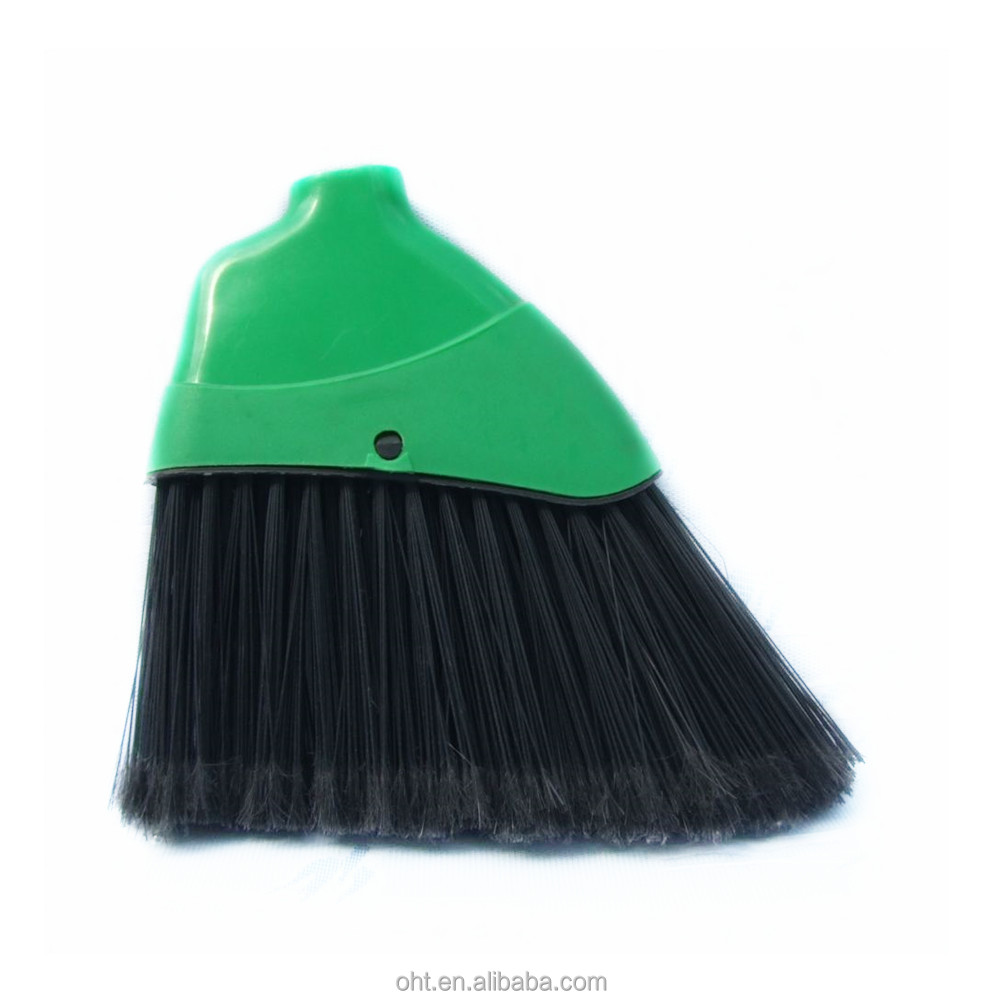 Plastic household floor cleaning broom head
