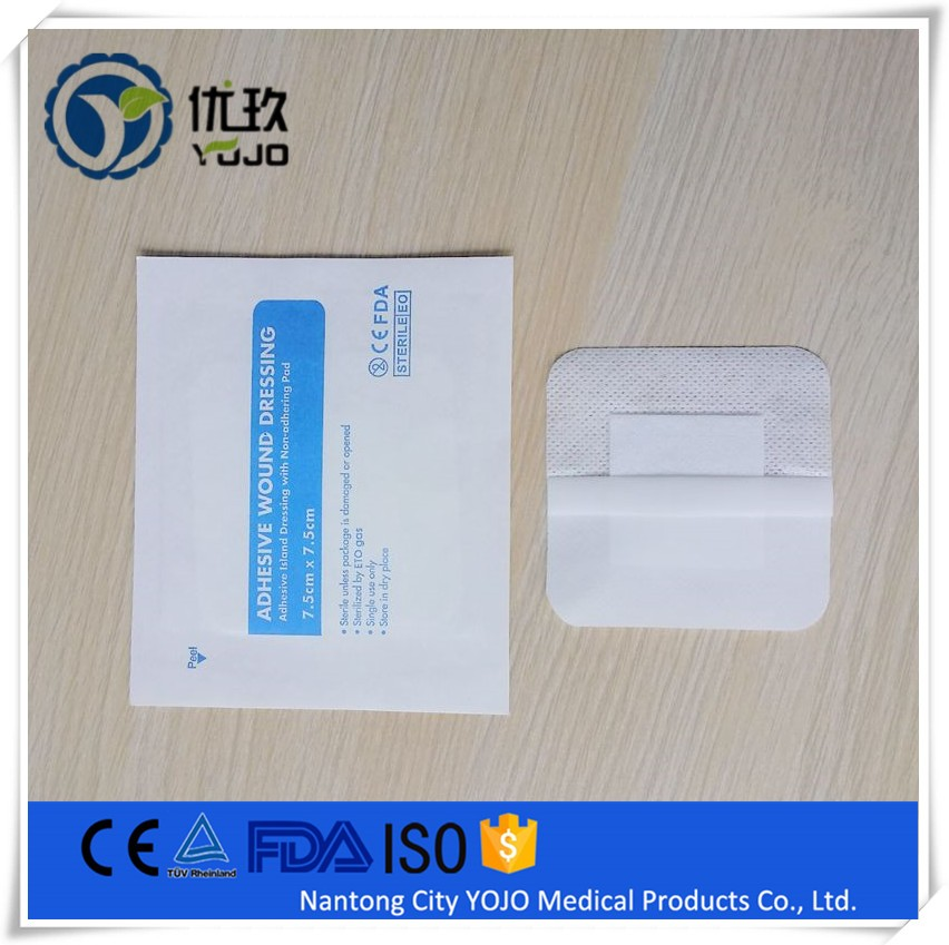 China Supplier Medical Sterile Non-woven Antiseptic Wound Dressing