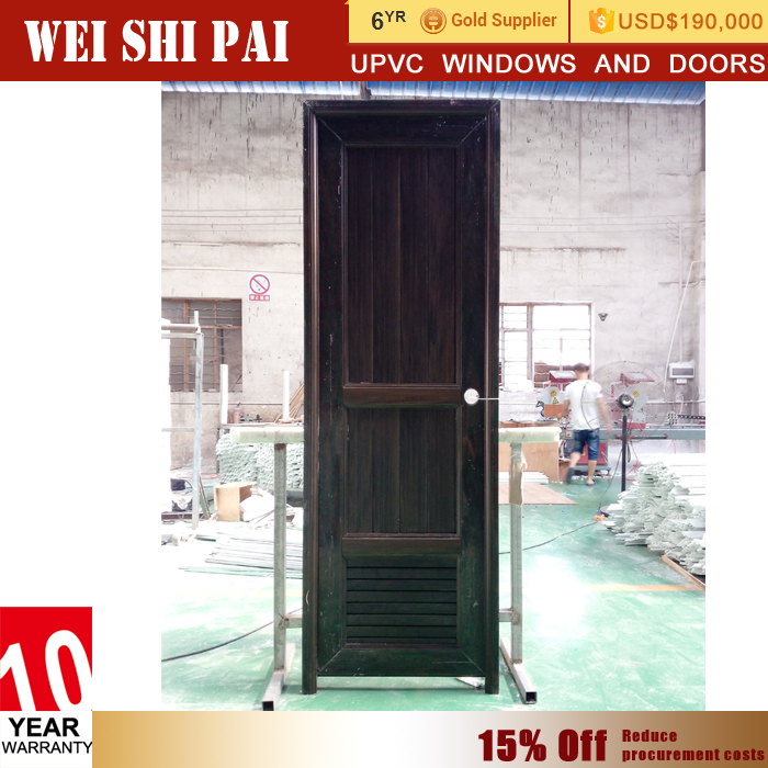 Bangladesh Rfl Plastic Interior Louvered Bathroom Upvc Door