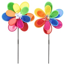 Lower price decorative windmill leaves wind spinner pinwheel windmill