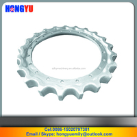 Excavator driven gear ring/ Excavator chain sprocket wheel/ Excavator driving wheel