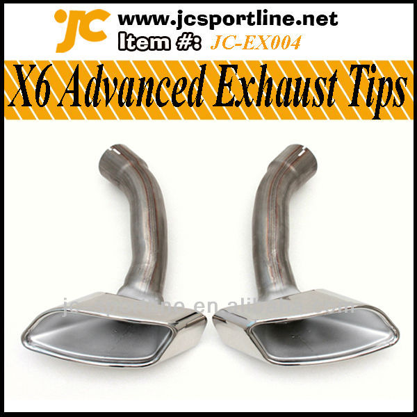 X6 Advanced Exhaust Tips For BMW X6