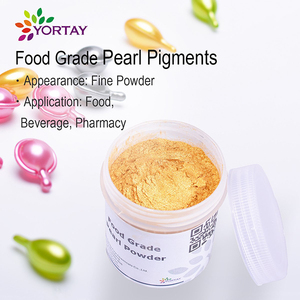 Natural Food Grade Pearl pigment powder / Edible Gold powder Pearl Pigment for cake & drink & pharmacy / Food color pigments