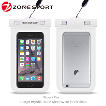 100% Sealed PVC Waterproof Phone Bag Case Underwater Pouch For iphone 4/4S/5/5S/5C Samsung All mobile phone Watch