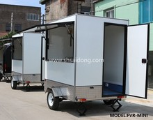 China factory commercial used mobile fast food trailer mobile food van