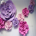 High quality long duration time artificial flower mat flower wall with custom design