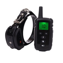 amazon hot seller remote control Dog Training Collar Anti Bark Shocker electric shock collar for dog