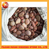 Natural red river stone pebbles landscape stone for decor