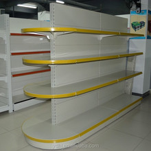 Supermarket shelf heavyduty gondola
