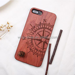 high quality durable cell phone case wood for iphone 7 Plus,mobile phone accessories