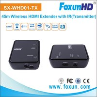SX-WHD01 2015 NEW 45m 1080P 3D Video Audio Wireless HDMI Extedner (Transmitter and Receiver)