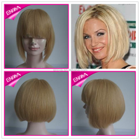 Aliexpress natural bob style virgin remy human hair full lace wig