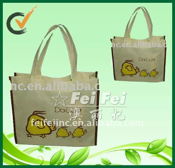 Cute Chicken Non Woven Carry Bag for Promotion