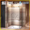 Popular big roller rectangle sliding shower enclosure EX-802N