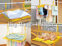japanese household tool equipment washer plastic clothes jeans shoes laundry machine hangers pinch big wings