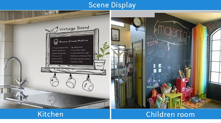 Design custom chalkboard sticker for cheap kid toys