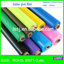 2951 Soft PVC Film For Key Bag Opaque Color