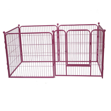 6-pcs dog kennels welded wire dog plastic travel kennel MHD008