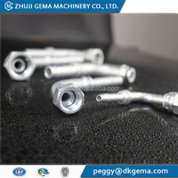 CNC precision machining ss fitting/high quality ss compression pipe fitting hose for submersible pump German
