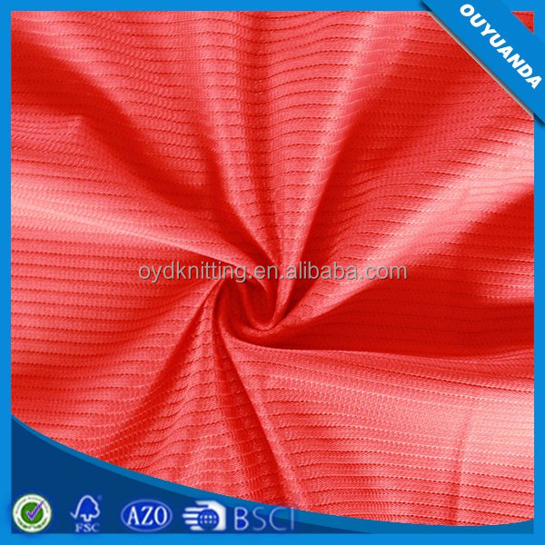 Types Of Brushed Polyester Plain Nude Mesh Lining Fabric
