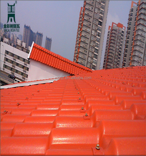 Building Synthetic Resin Roof Tile Plastic Roof Tile ASA Eaves Tile