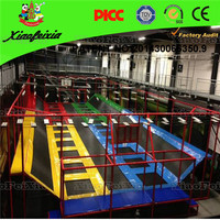 Active Large Luxury Trampoline with Indoor Playground, Trampoline Park Wholesale
