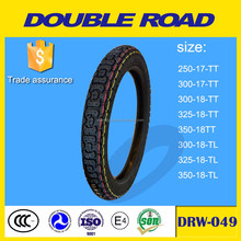Wholesale manufacturer direct motorcycle tube tubeless tyres 3.00-18