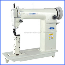 WD 810 High Speed Single Needle Post Bed Typical Industrial Leather Shoe Bag Sewing Machine