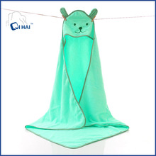 Cute Animal Cartoon Baby Bathrobe Infant Children Hooded Towel Wrap 100% Quality Toddler Spa Bath Towel