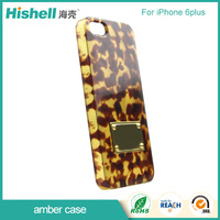 Strong plastic amber phone case for apple for iPhone 7 pc case