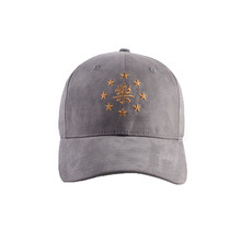 Custom Suede Baseball Cap With Embroidery, Suede Baseball Cap For Wholesale