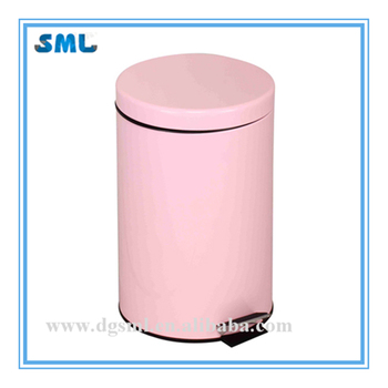 Home usage and Foot pedal structure trash can bin(5L)