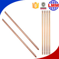 best price bonded earth rod factory chemical earth rod for Europe compression clad