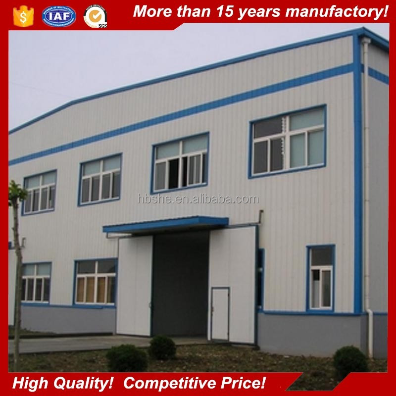 low cost structural steel design two storey office building